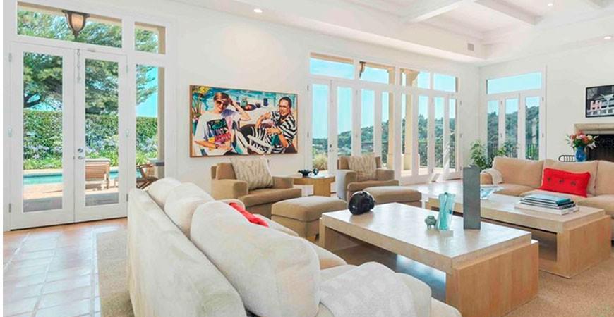 Casas de famosos: Las casas de Jennifer López y Kristin Davis